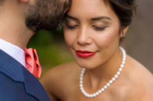 Asian Bride - Red lips