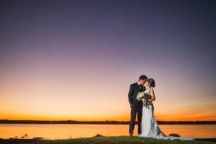 Shediac Bay Sunset Wedding