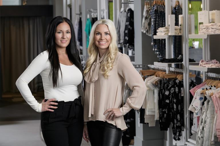 Kids clothing boutique - Moncton business portraits