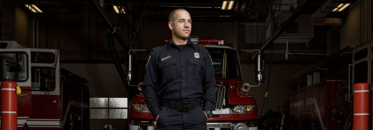 Moncton Firefighter Portrait