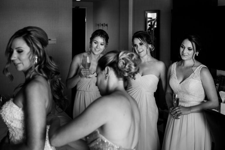Wedding prep photography - Moncton, NB