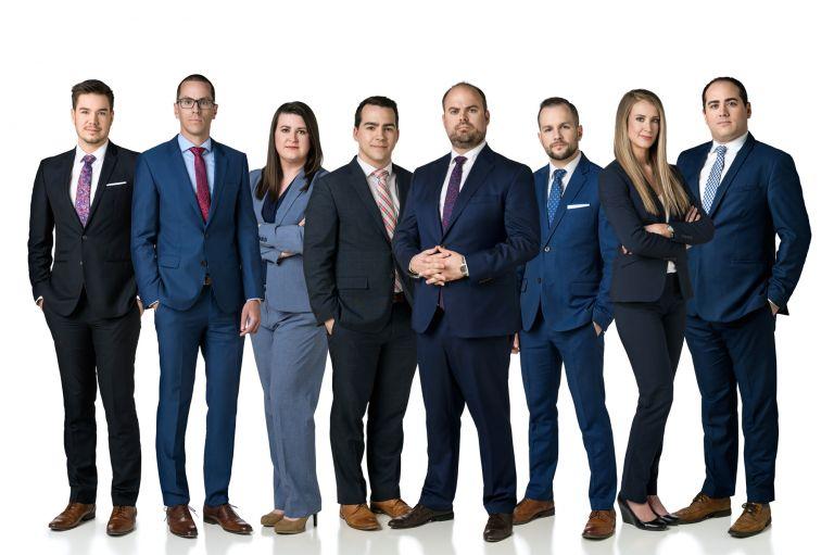 Moncton Lawyers Team Photo